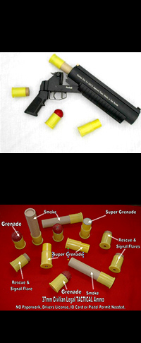 37mm M79 Launcher and Ammo